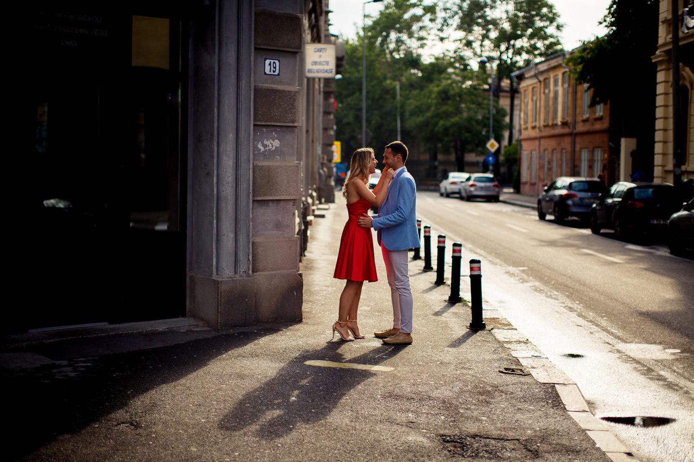 Sesiune foto de logodna - Carmen + Mihai - Bucuresti