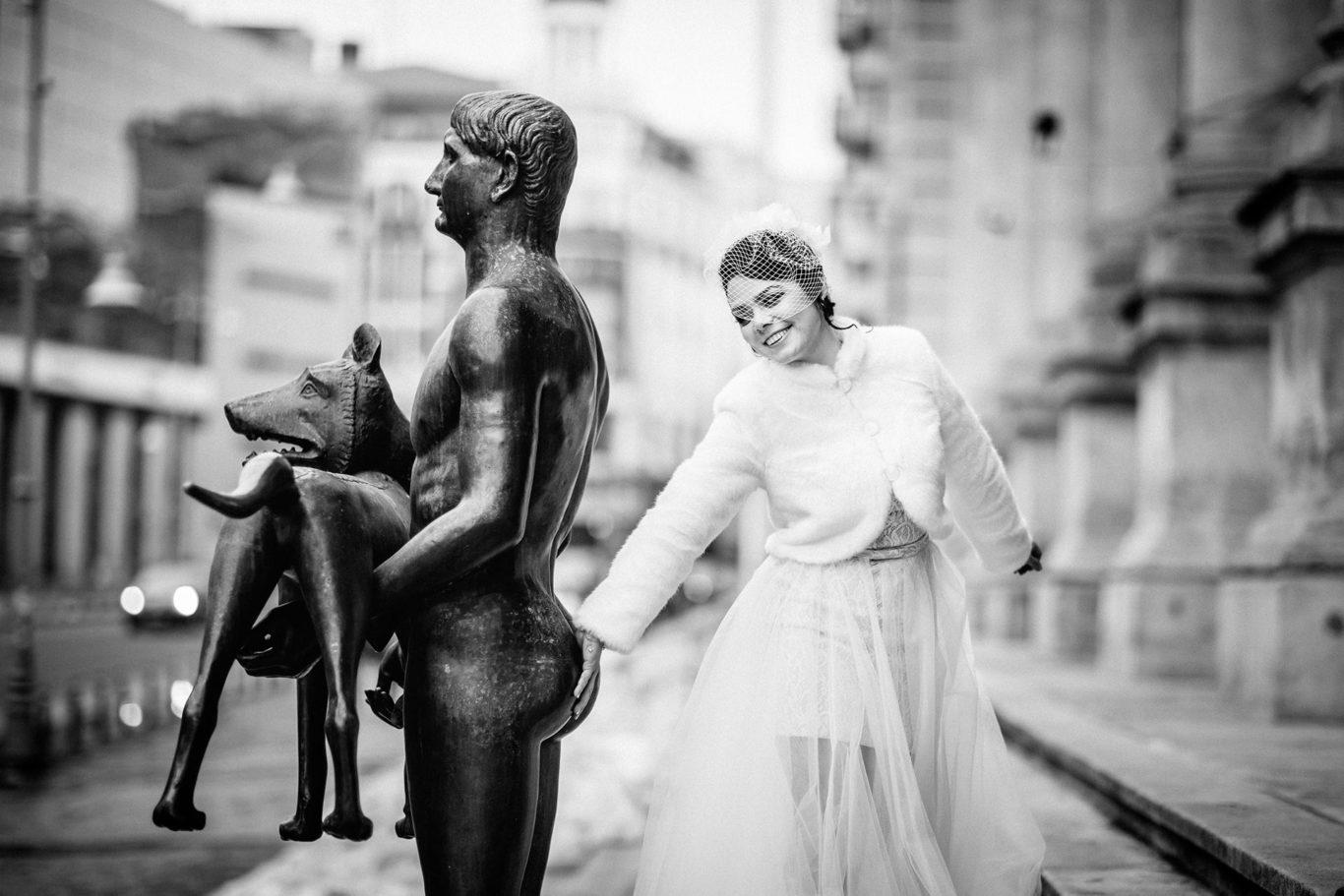 Nunta la Caru cu Bere - fotograf nunta Bucuresti - Ciprian Dumitrescu