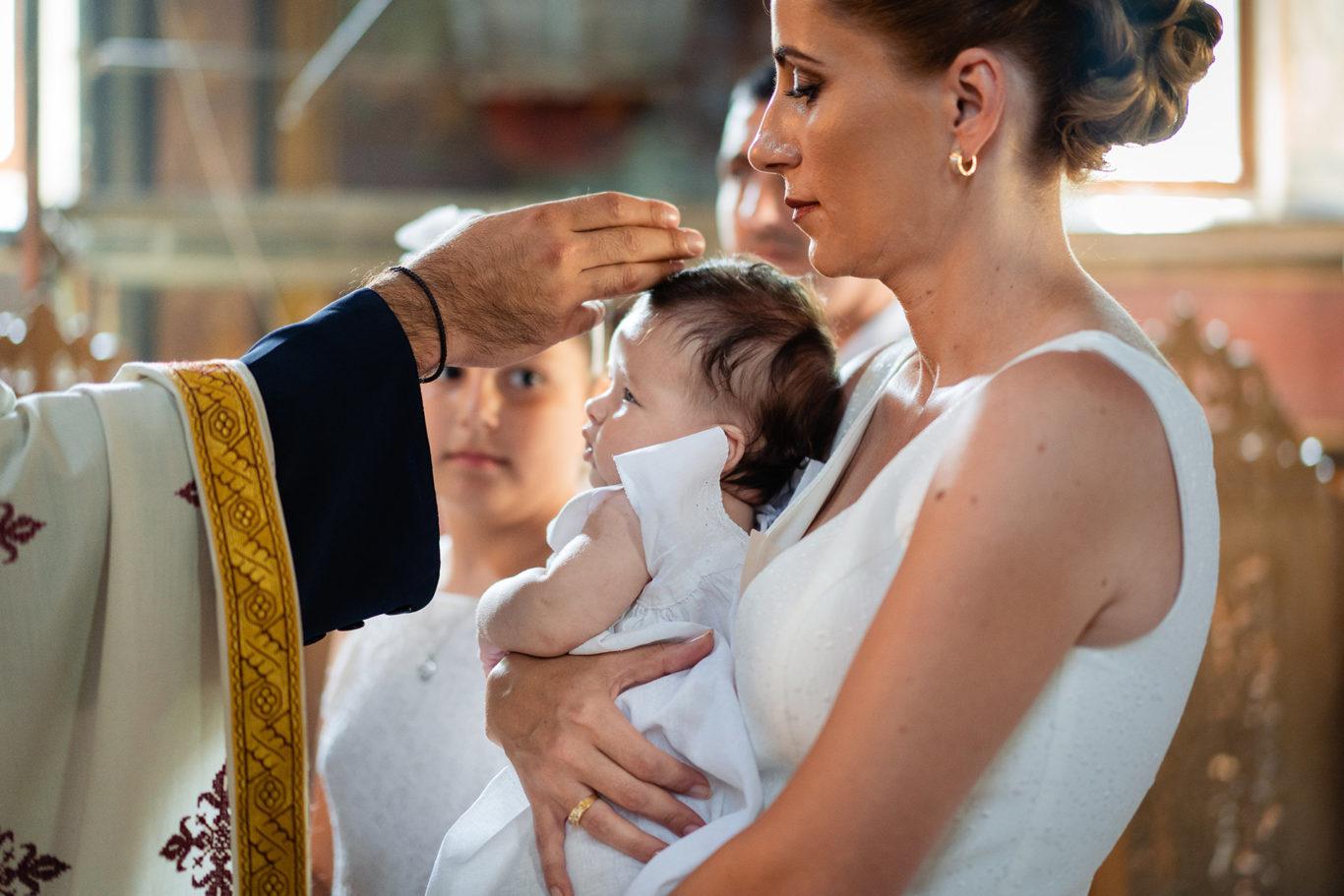 Binecuvantarea botezului