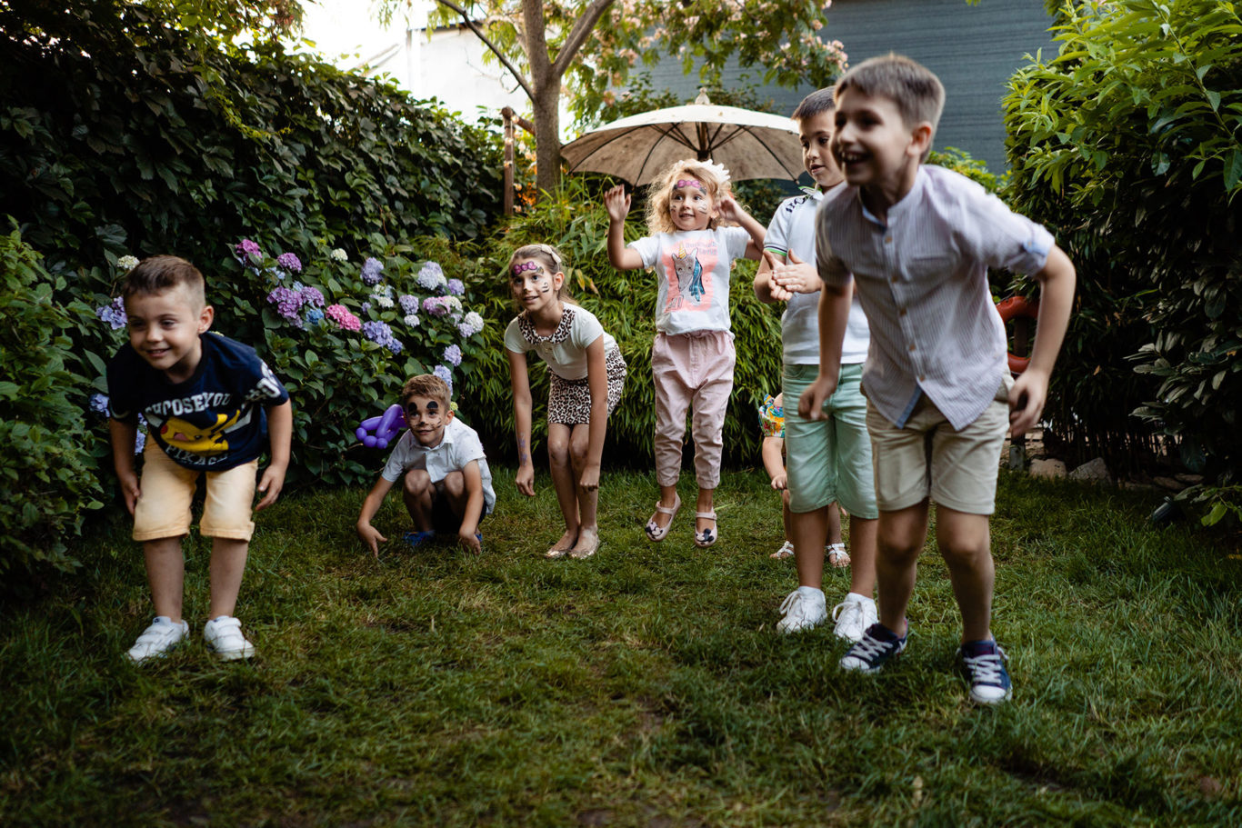 Fun play in the garden at Ochisoru - foto Ciprian Dumitrescu