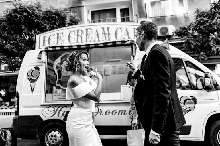 Nunta pe Calea Victoriei - fotograf Ciprian Dumitrescu