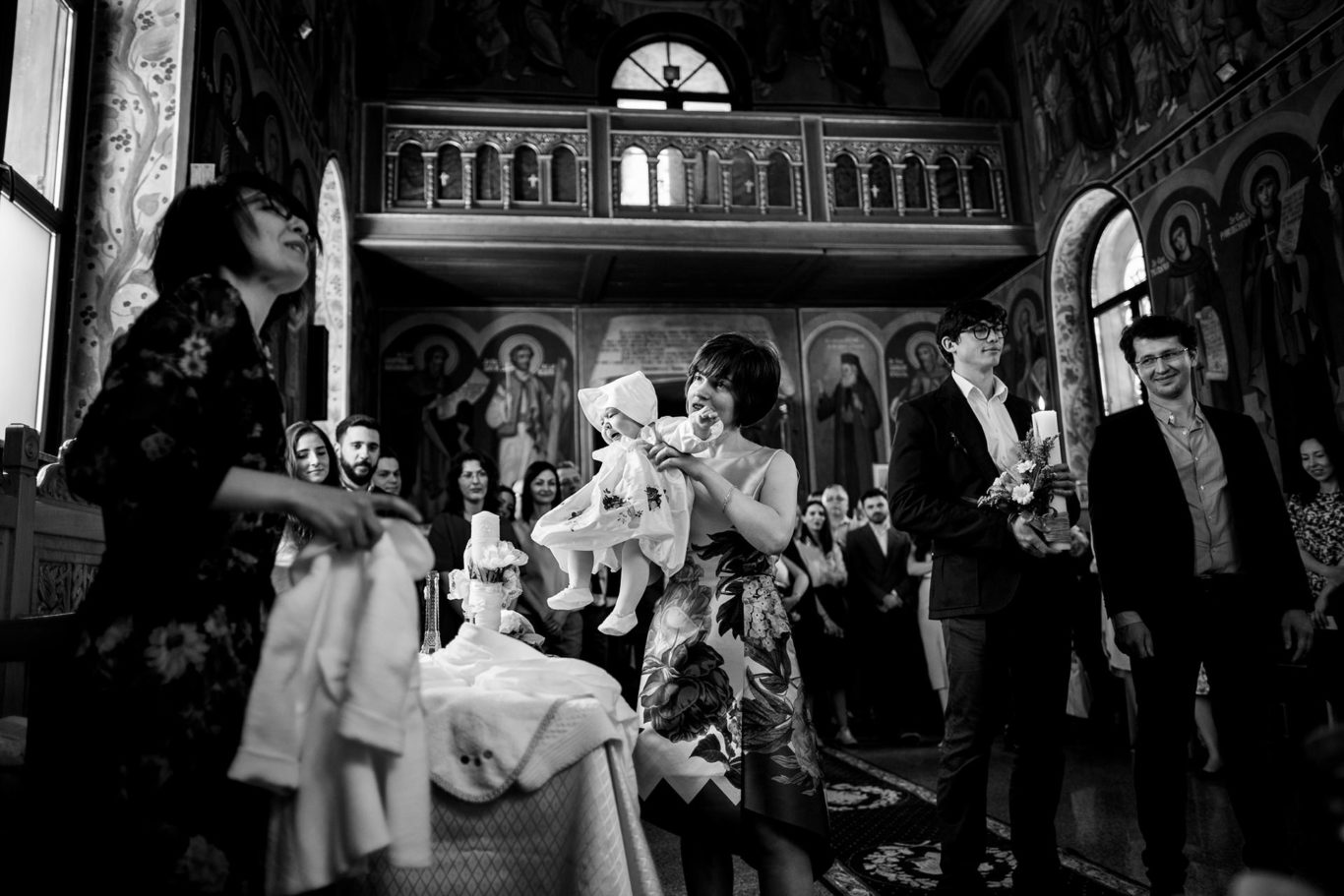 Slujba botez Buzau - fotograf Ciprian Dumitrescu