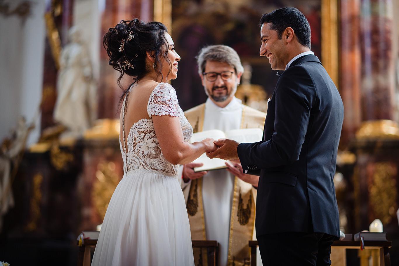 Dragoste sincera la nunta in Munchen