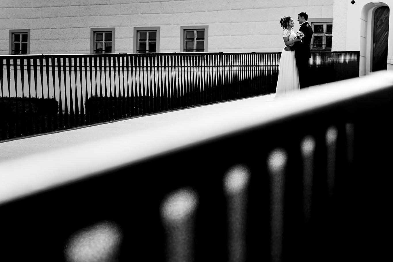 Mire si mireasa la Schloss Hohenkammer - fotograf nunta Munchen