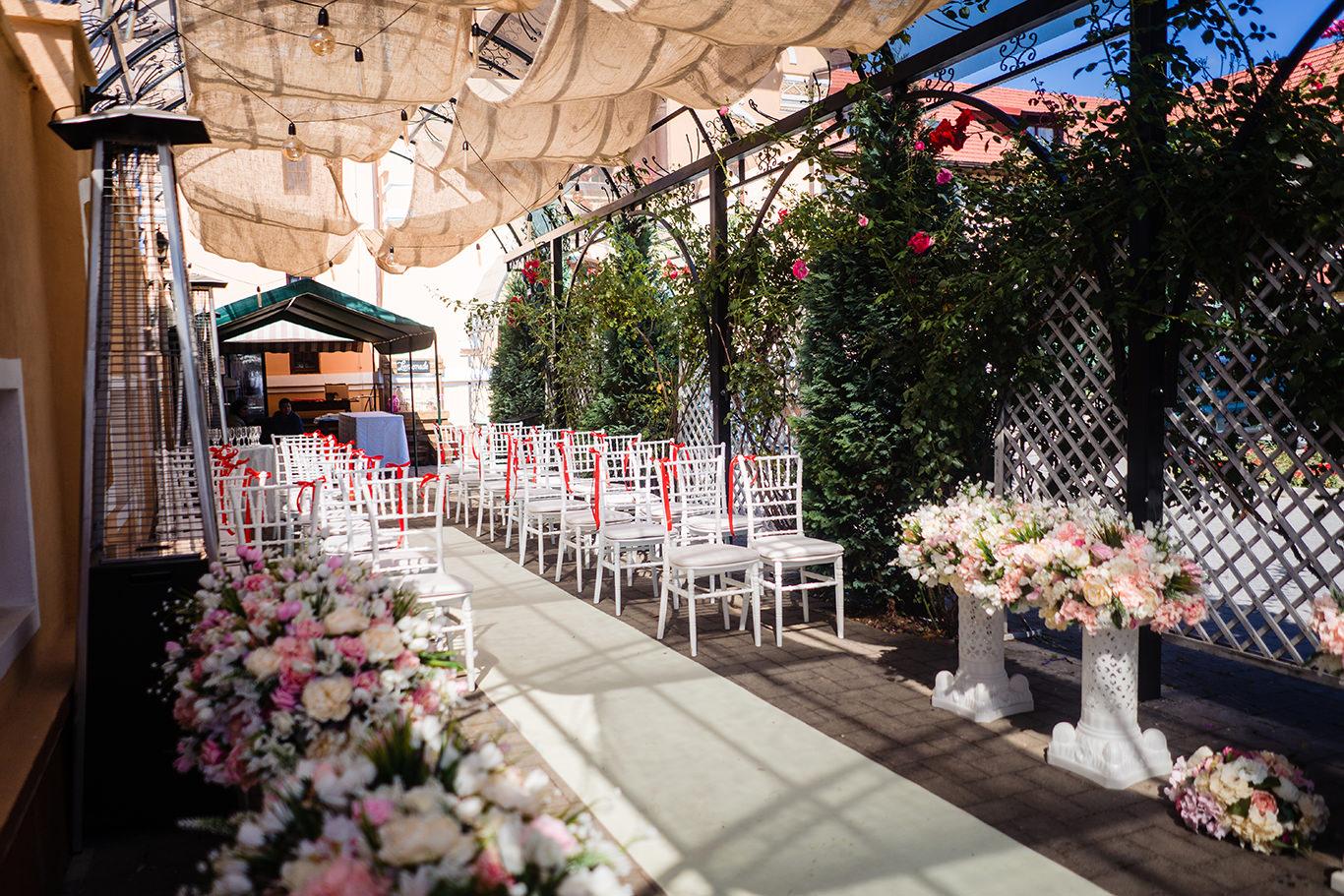 Ceremonie de nunta in aer liber - La Belle Epoque