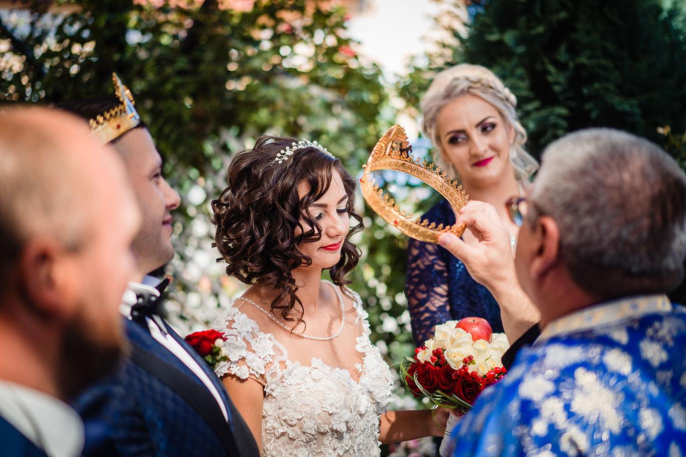 Coroane de miri la nunta in Petrosani