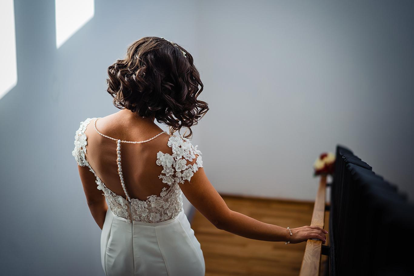 Detalii rochie de mireasa