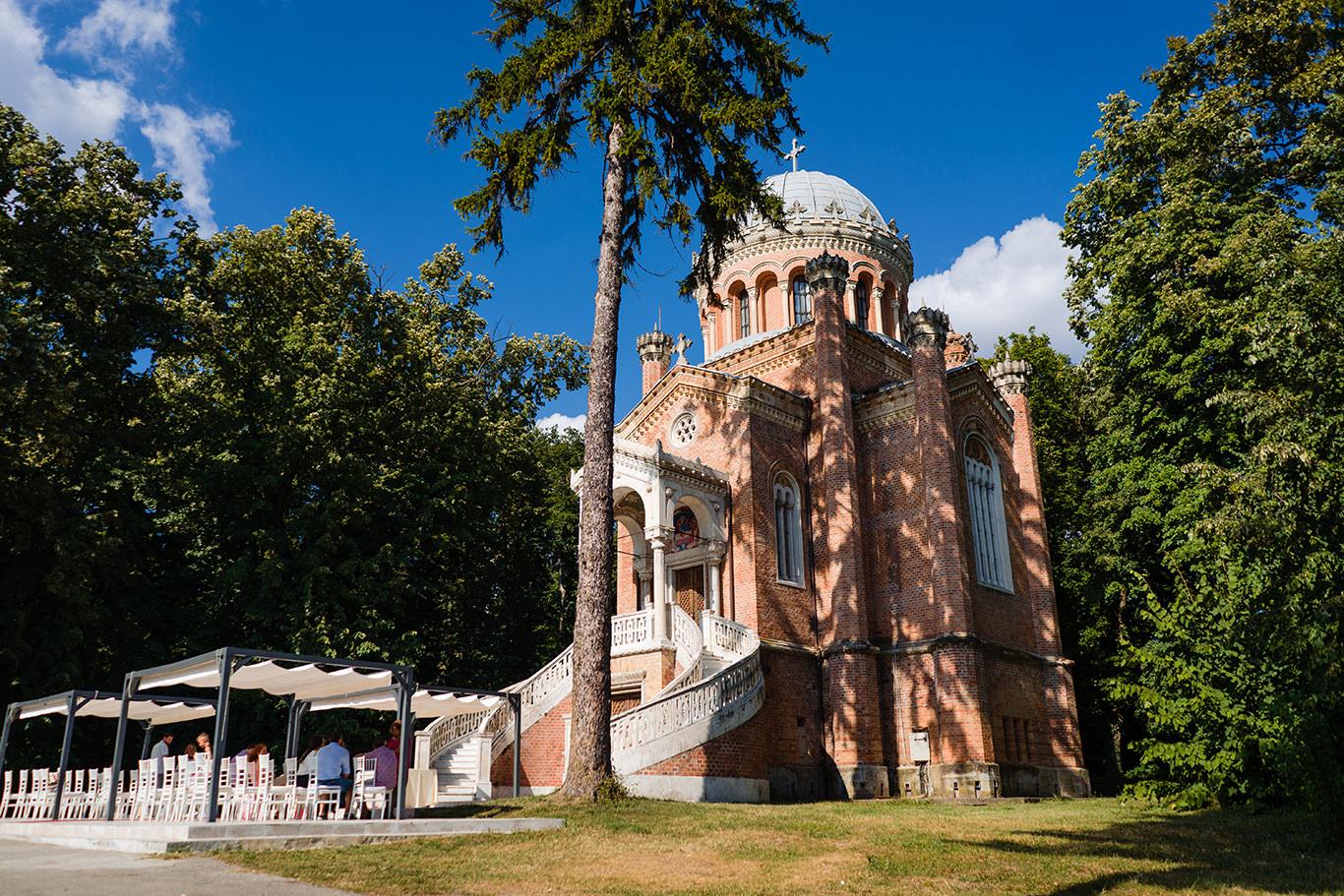 Capela Palatului Stibey - botez Karina