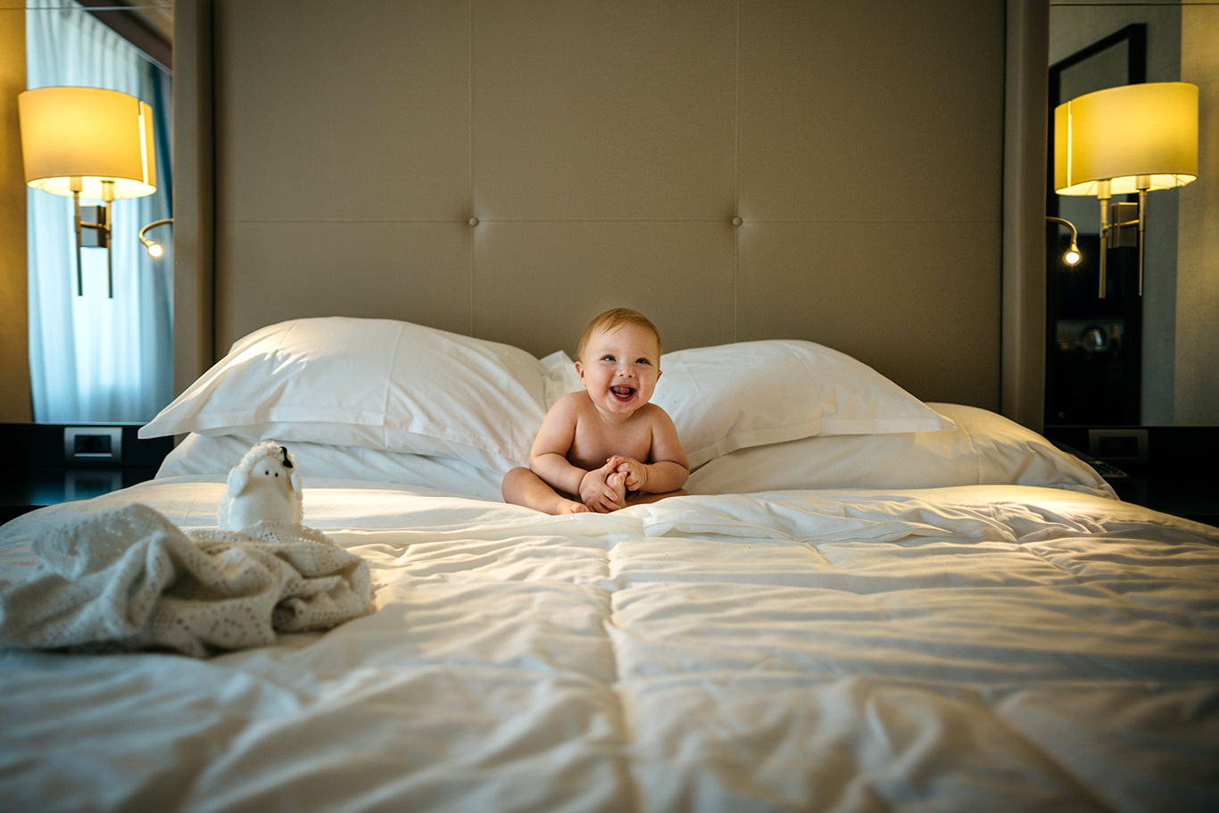 Zambet de copil - fotograf copii