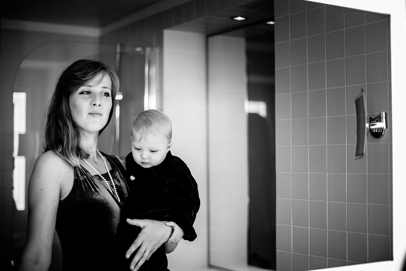 Fotografie de familie - Dalin si mama