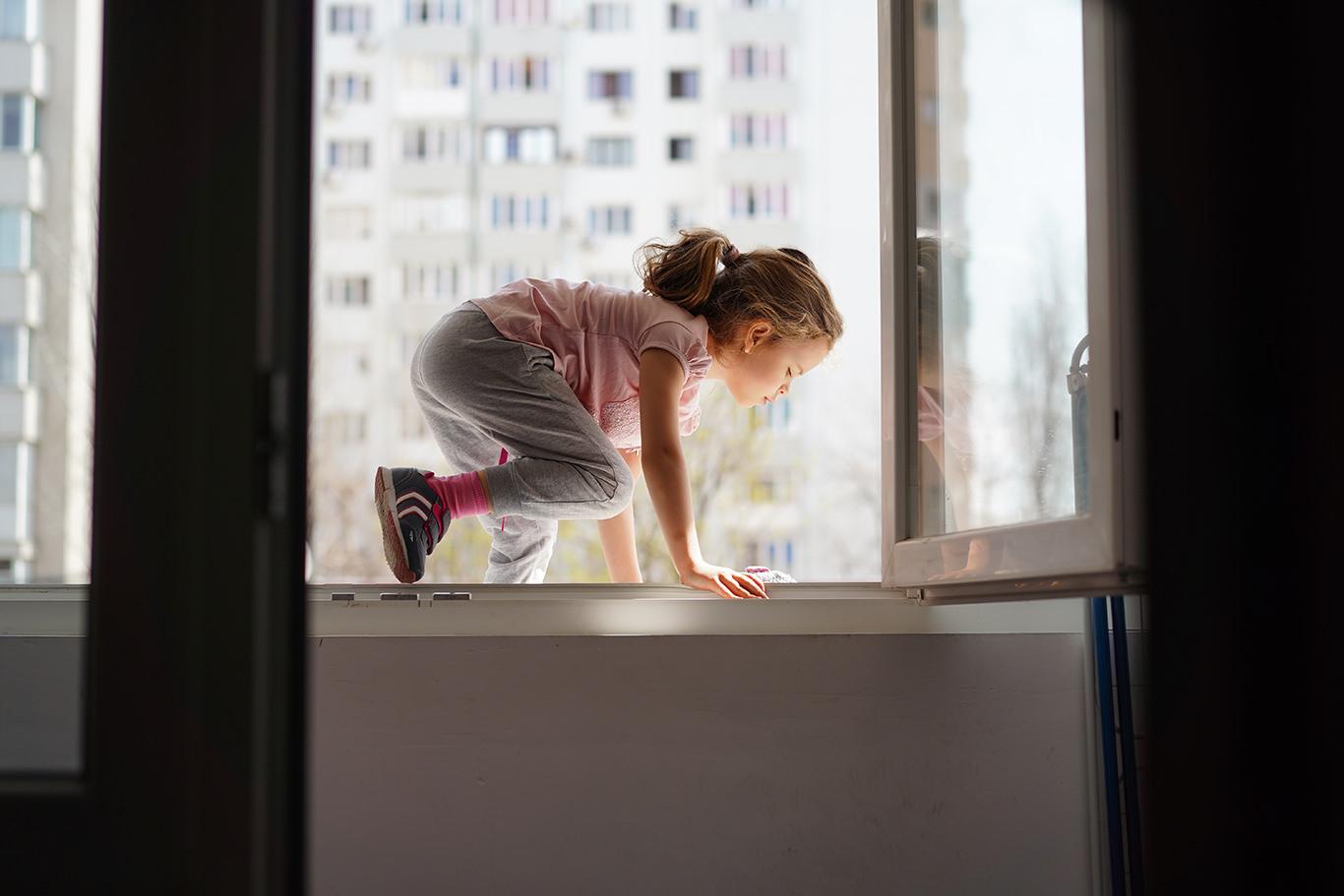 Evadarea pe terasa